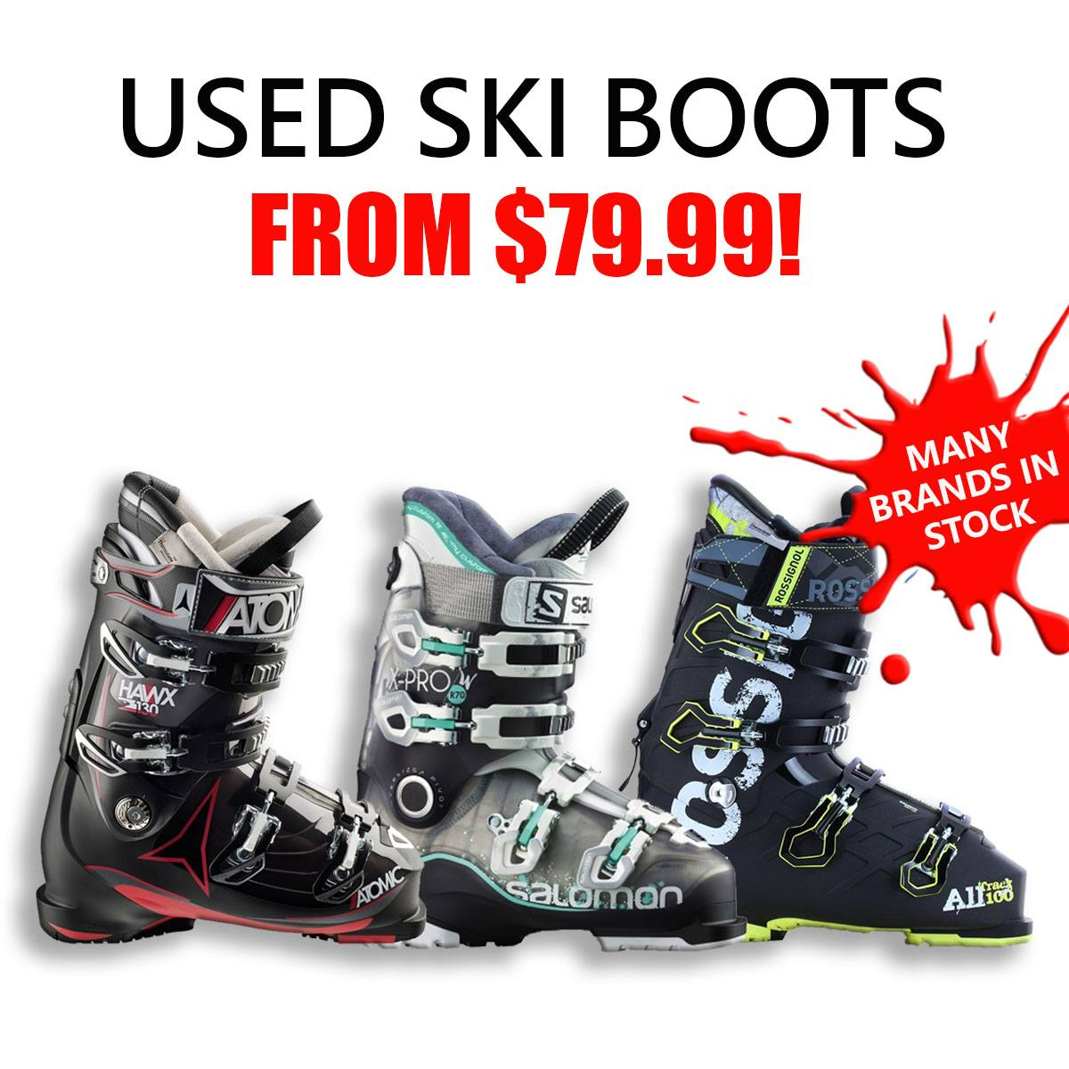 New   Used Ski Equipment Vancouver  fbb0df274